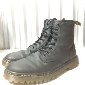Dr Martens Awley Black Leather Boots